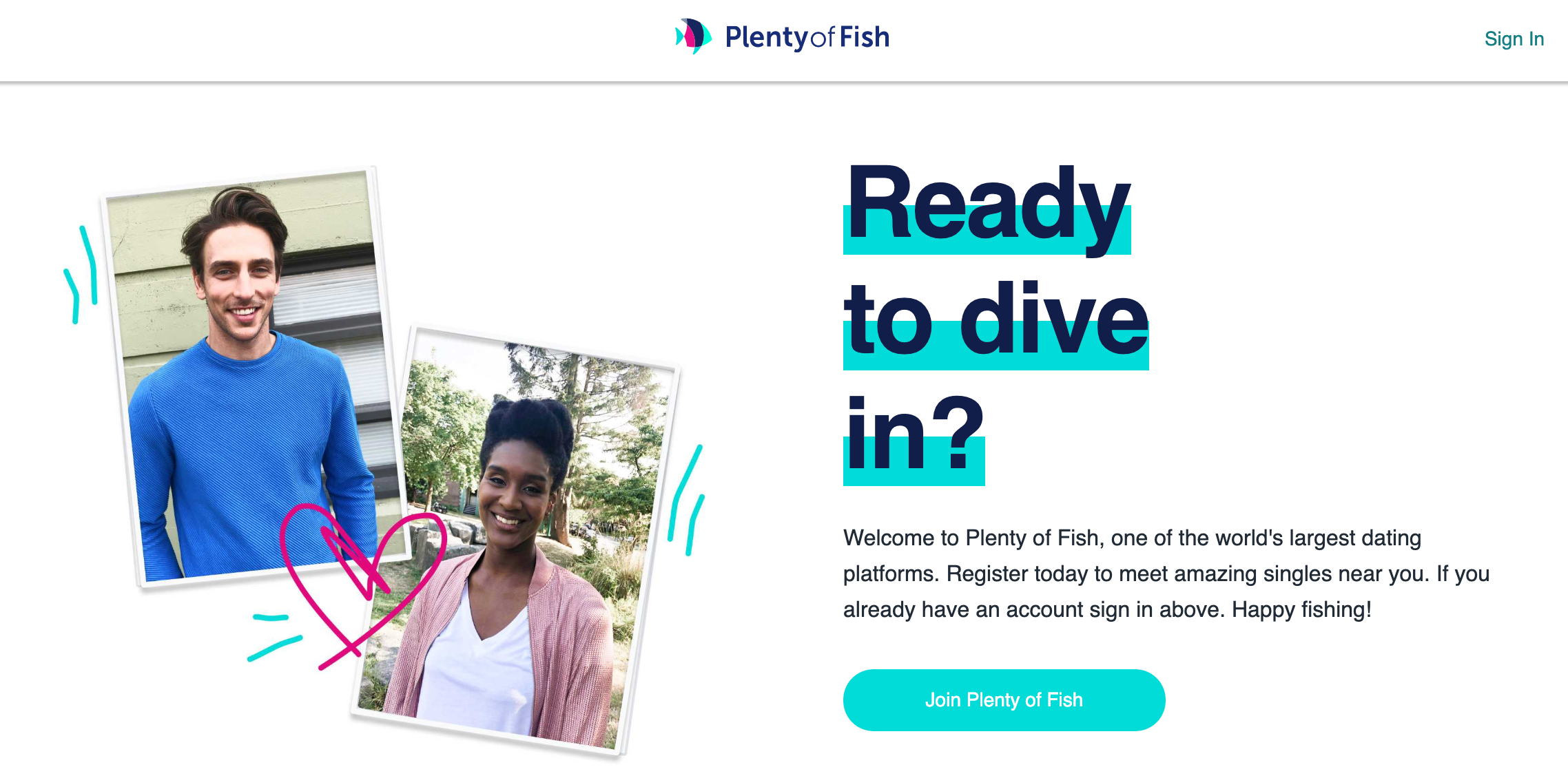 PlentyOfFish Registration