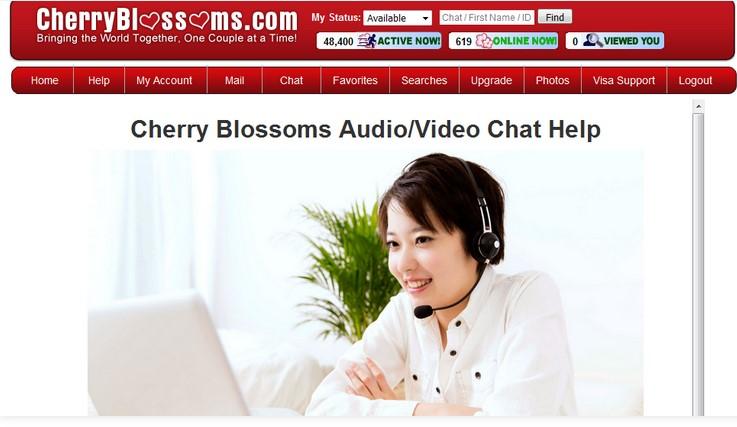 Cherry Blossom dating sajt på nätet Vad online dating webbplatser är legit