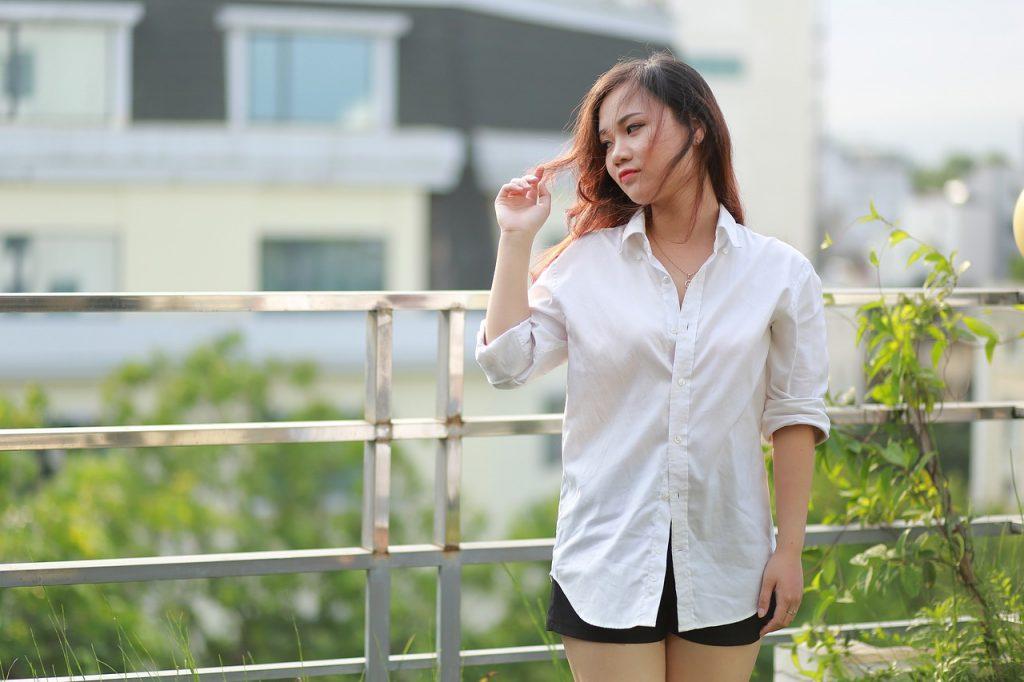 Filipino beautiful woman