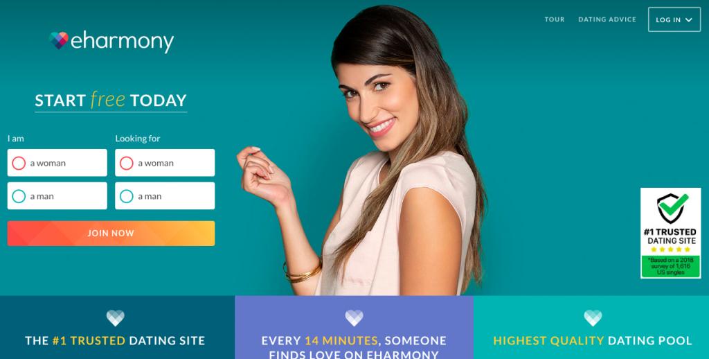 main page Eharmony