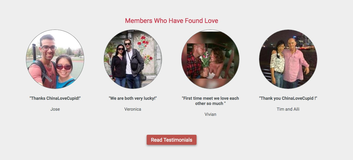 ChinaLoveCupid members who have found love