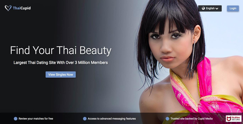 Thaicupid.Com main page