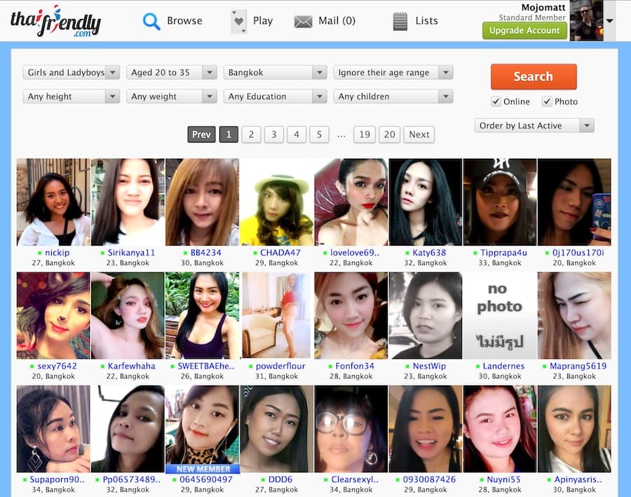 thaifriendly women profiles