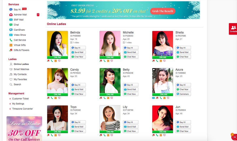 AsianBeautyOnline online ladies
