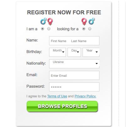 AsianBeautyOnline registration form