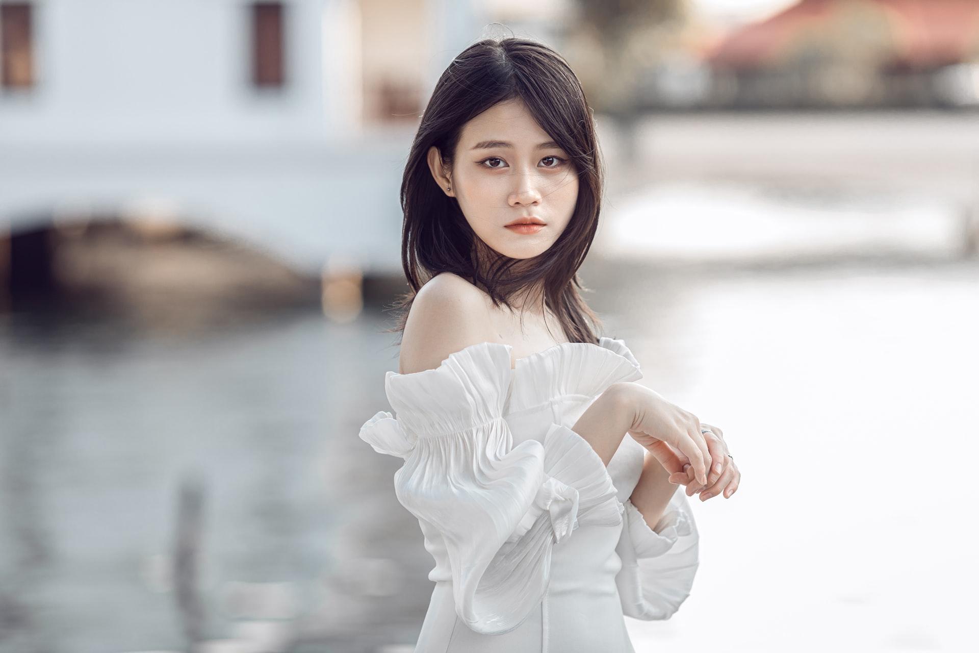 tender Japanese Woman